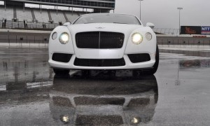 First Drive Review - 2015 Bentley Continental GT V8S - White Satin 19