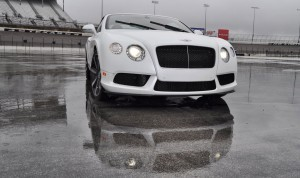 First Drive Review - 2015 Bentley Continental GT V8S - White Satin 21