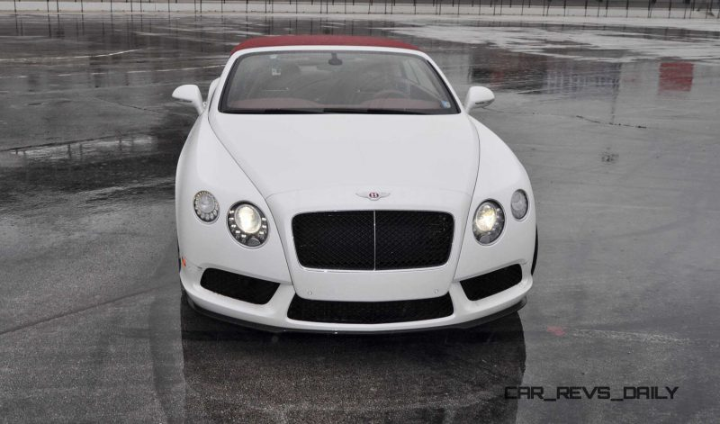 First Drive Review - 2015 Bentley Continental GT V8S - White Satin 23