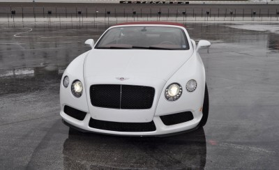 First Drive Review - 2015 Bentley Continental GT V8S - White Satin 24