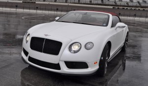 First Drive Review - 2015 Bentley Continental GT V8S - White Satin 25