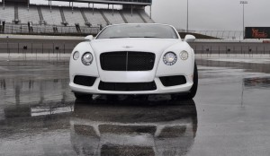 First Drive Review - 2015 Bentley Continental GT V8S - White Satin 26