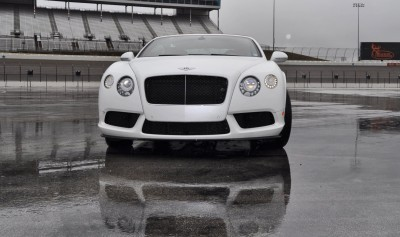 First Drive Review - 2015 Bentley Continental GT V8S - White Satin 27