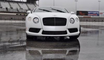 First Drive Review - 2015 Bentley Continental GT V8S - White Satin 29