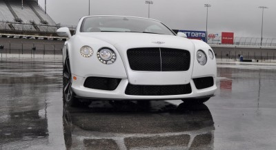 First Drive Review - 2015 Bentley Continental GT V8S - White Satin 30