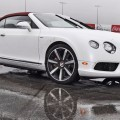 First Drive Review - 2015 Bentley Continental GT V8S - White Satin 34