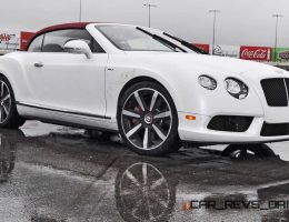 First Drive VIDEO Review – 2015 Bentley Continental GT V8S Convertible – Mulliner Spec in White Satin