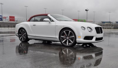 First Drive Review - 2015 Bentley Continental GT V8S - White Satin 35