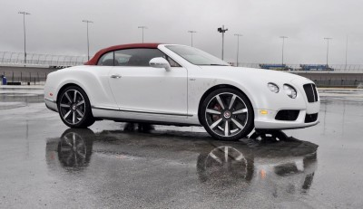 First Drive Review - 2015 Bentley Continental GT V8S - White Satin 36