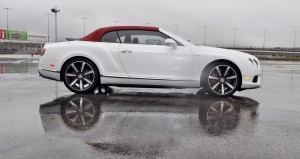 First Drive Review - 2015 Bentley Continental GT V8S - White Satin 37