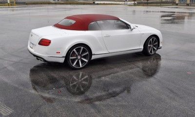 First Drive Review - 2015 Bentley Continental GT V8S - White Satin 43