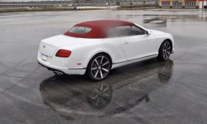 First Drive Review - 2015 Bentley Continental GT V8S - White Satin 44
