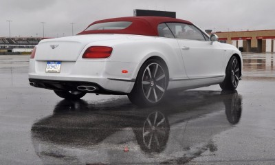 First Drive Review - 2015 Bentley Continental GT V8S - White Satin 45