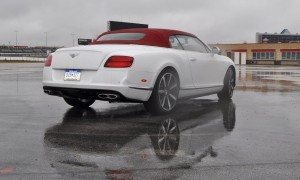 First Drive Review - 2015 Bentley Continental GT V8S - White Satin 46
