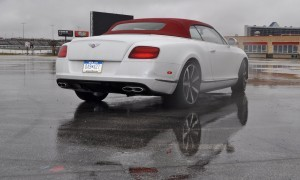 First Drive Review - 2015 Bentley Continental GT V8S - White Satin 47