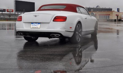 First Drive Review - 2015 Bentley Continental GT V8S - White Satin 48