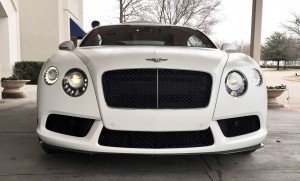 First Drive Review - 2015 Bentley Continental GT V8S - White Satin 5