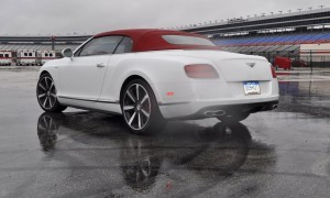 First Drive Review - 2015 Bentley Continental GT V8S - White Satin 52