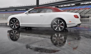 First Drive Review - 2015 Bentley Continental GT V8S - White Satin 53