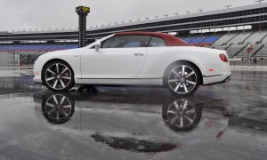 First Drive Review - 2015 Bentley Continental GT V8S - White Satin 54