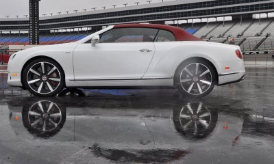 First Drive Review - 2015 Bentley Continental GT V8S - White Satin 55