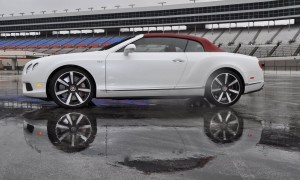 First Drive Review - 2015 Bentley Continental GT V8S - White Satin 56