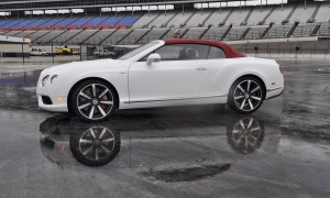 First Drive Review - 2015 Bentley Continental GT V8S - White Satin 57