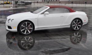 First Drive Review - 2015 Bentley Continental GT V8S - White Satin 58