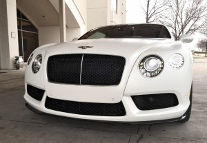First Drive Review - 2015 Bentley Continental GT V8S - White Satin 6
