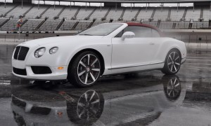 First Drive Review - 2015 Bentley Continental GT V8S - White Satin 60
