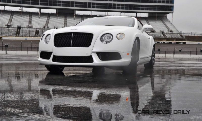 First Drive Review - 2015 Bentley Continental GT V8S - White Satin 61