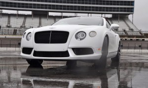 First Drive Review - 2015 Bentley Continental GT V8S - White Satin 62