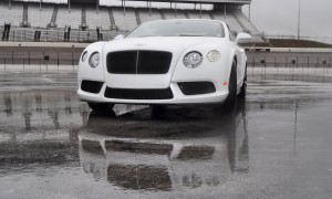 First Drive Review - 2015 Bentley Continental GT V8S - White Satin 63