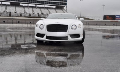 First Drive Review - 2015 Bentley Continental GT V8S - White Satin 65