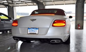 First Drive Review - 2015 Bentley Continental GT V8S - White Satin 73