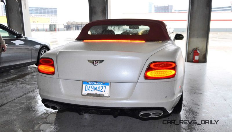 First Drive Review - 2015 Bentley Continental GT V8S - White Satin 74