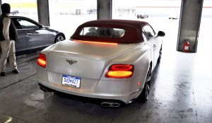 First Drive Review - 2015 Bentley Continental GT V8S - White Satin 75