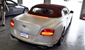 First Drive Review - 2015 Bentley Continental GT V8S - White Satin 76