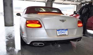 First Drive Review - 2015 Bentley Continental GT V8S - White Satin 77