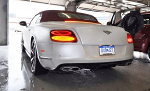 First Drive Review - 2015 Bentley Continental GT V8S - White Satin 78