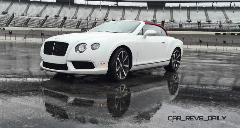 First Drive Review - 2015 Bentley Continental GT V8S - White Satin 9