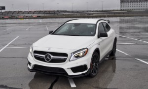 First Drive Review - 2015 Mercedes-AMG GLA45 10