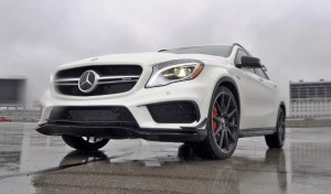 First Drive Review - 2015 Mercedes-AMG GLA45 12