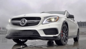 First Drive Review - 2015 Mercedes-AMG GLA45 13