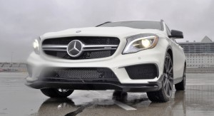 First Drive Review - 2015 Mercedes-AMG GLA45 14