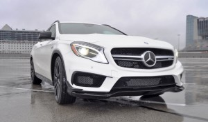 First Drive Review - 2015 Mercedes-AMG GLA45 17