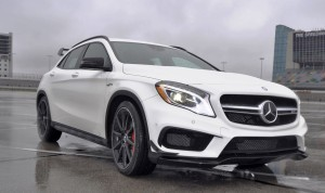 First Drive Review - 2015 Mercedes-AMG GLA45 18