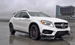 First Drive Review - 2015 Mercedes-AMG GLA45 19