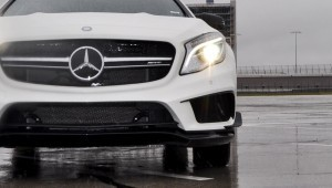 First Drive Review - 2015 Mercedes-AMG GLA45 2