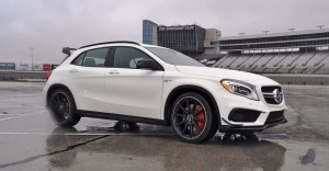 First Drive Review - 2015 Mercedes-AMG GLA45 21